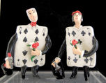 Alice in Wonderland ceramic figures 2 [title supplied by cataloger]